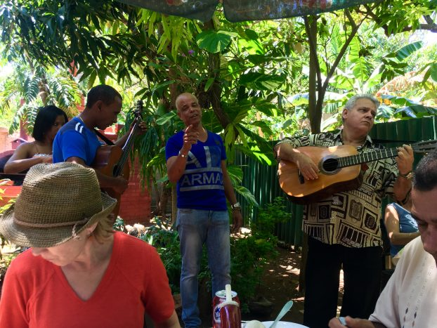 Great food and music at Doña Carmela