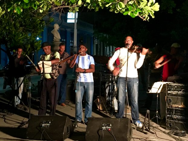 Benny Moré and outdoor music in Cienfuegos